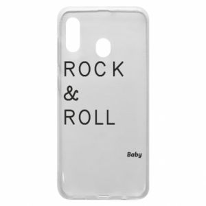 Phone case for Samsung A20 Rock & Roll Baby