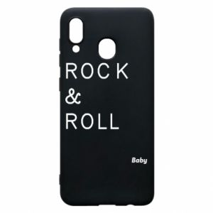 Phone case for Samsung A30 Rock & Roll Baby