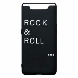 Phone case for Samsung A80 Rock & Roll Baby