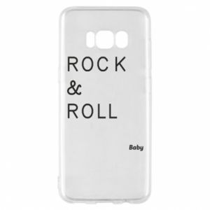 Phone case for Samsung S8 Rock & Roll Baby