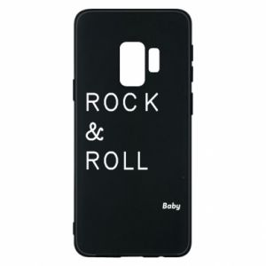 Phone case for Samsung S9 Rock & Roll Baby