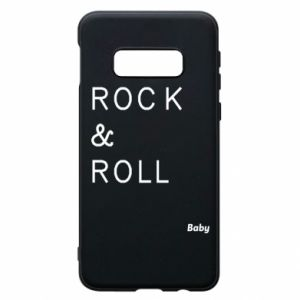 Phone case for Samsung S10e Rock & Roll Baby
