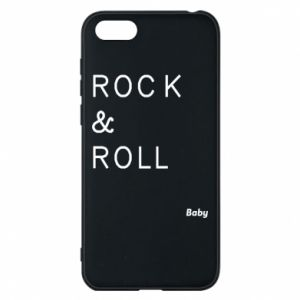 Phone case for Huawei Y5 2018 Rock & Roll Baby