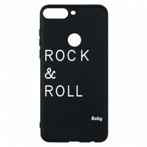Phone case for Huawei Y7 Prime 2018 Rock & Roll Baby