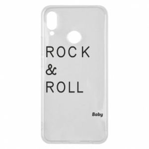 Phone case for Huawei P Smart Plus Rock & Roll Baby