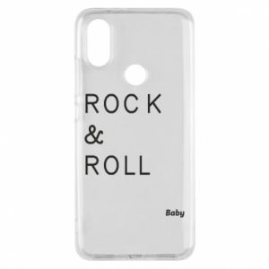 Phone case for Xiaomi Mi A2 Rock & Roll Baby