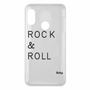 Phone case for Mi A2 Lite Rock & Roll Baby