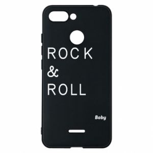 Phone case for Xiaomi Redmi 6 Rock & Roll Baby