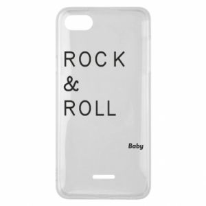 Phone case for Xiaomi Redmi 6A Rock & Roll Baby