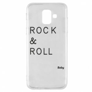 Phone case for Samsung A6 2018 Rock & Roll Baby