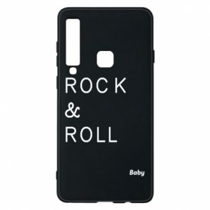 Phone case for Samsung A9 2018 Rock & Roll Baby