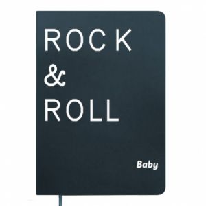 Notepad Rock & Roll Baby