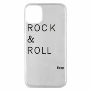 Phone case for iPhone 11 Pro Rock & Roll Baby