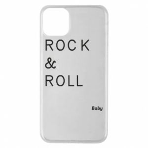 Phone case for iPhone 11 Pro Max Rock & Roll Baby