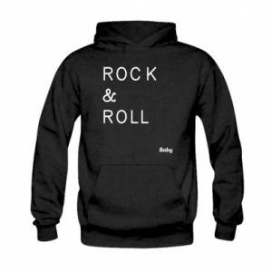 Bluza z kapturem dziecięca Rock & Roll Baby
