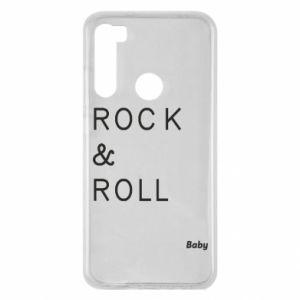 Etui na Xiaomi Redmi Note 8 Rock & Roll Baby
