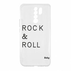 Etui na Xiaomi Redmi 9 Rock & Roll Baby