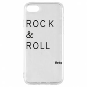 Phone case for iPhone 7 Rock & Roll Baby