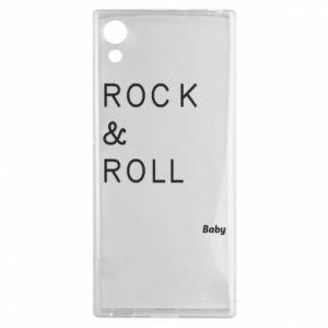 Etui na Sony Xperia XA1 Rock & Roll Baby