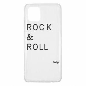 Etui na Samsung Note 10 Lite Rock & Roll Baby