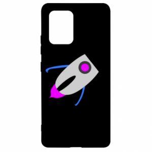 Etui na Samsung S10 Lite Rocket in space