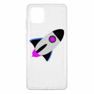Etui na Samsung Note 10 Lite Rocket in space