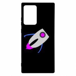 Etui na Samsung Note 20 Ultra Rocket in space