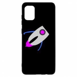 Etui na Samsung A31 Rocket in space