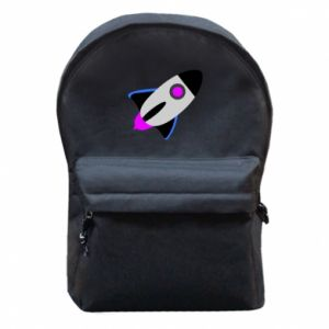 Plecak z przednią kieszenią Rocket in space