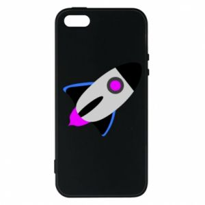Etui na iPhone 5/5S/SE Rocket in space