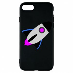 Etui na iPhone 7 Rocket in space