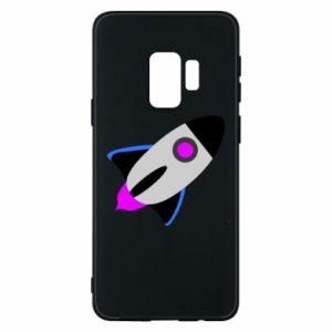 Etui na Samsung S9 Rocket in space