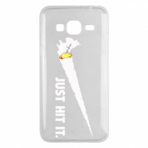 Etui na Samsung J3 2016 Roll-up white