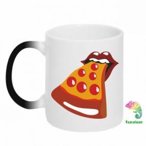 Chameleon mugs Rolling pizza