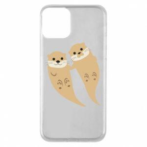 Etui na iPhone 11 Romantic Otters