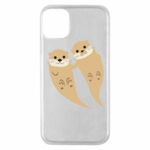 Etui na iPhone 11 Pro Romantic Otters