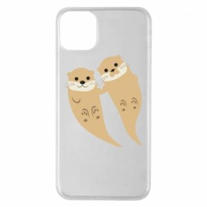 Etui na iPhone 11 Pro Max Romantic Otters