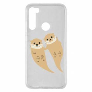 Etui na Xiaomi Redmi Note 8 Romantic Otters