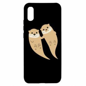 Etui na Xiaomi Redmi 9a Romantic Otters