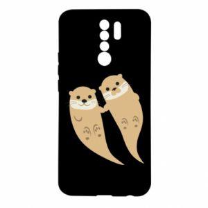 Etui na Xiaomi Redmi 9 Romantic Otters