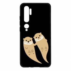 Etui na Xiaomi Mi Note 10 Romantic Otters