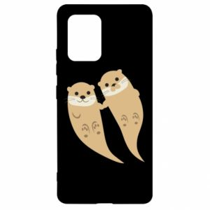 Etui na Samsung S10 Lite Romantic Otters