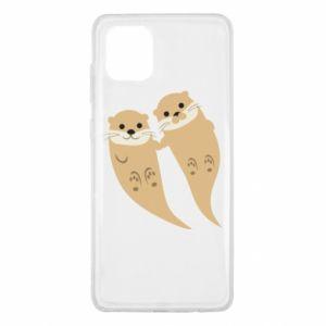 Etui na Samsung Note 10 Lite Romantic Otters