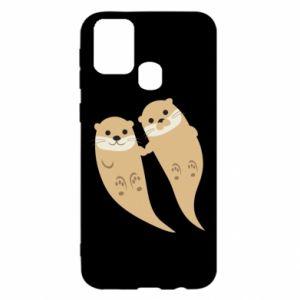 Etui na Samsung M31 Romantic Otters