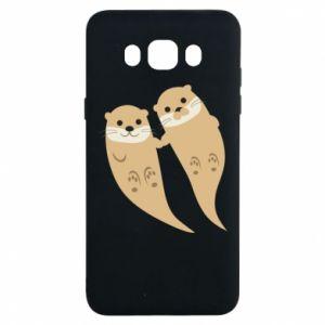 Etui na Samsung J7 2016 Romantic Otters
