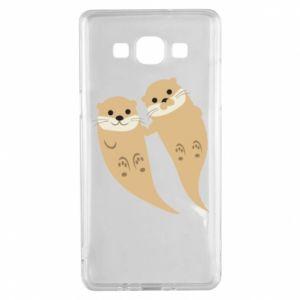 Etui na Samsung A5 2015 Romantic Otters