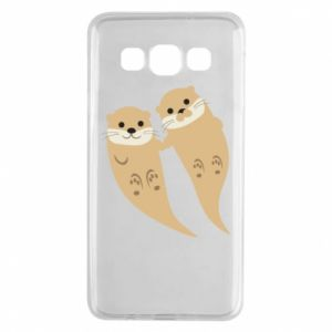 Etui na Samsung A3 2015 Romantic Otters