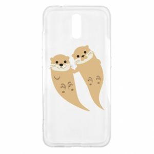 Etui na Nokia 2.3 Romantic Otters