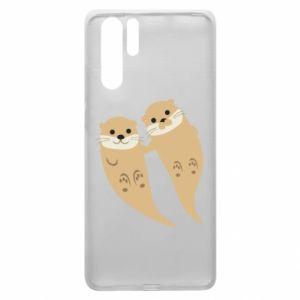 Etui na Huawei P30 Pro Romantic Otters