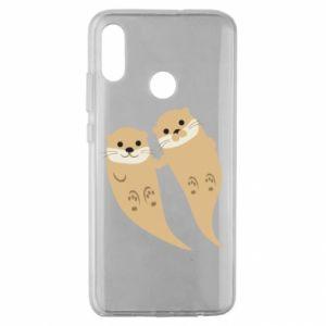 Etui na Huawei Honor 10 Lite Romantic Otters